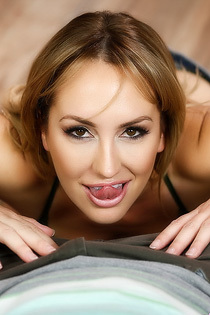 Brett Rossi Gives A Hot POV Blowjob For You