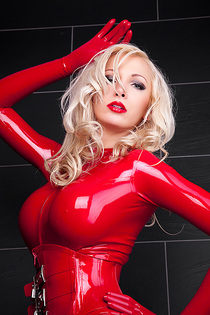 Dreamful Red Wet Catsuit-01