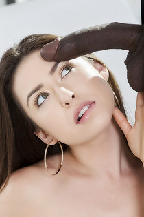 Melissa Moore Sucks A Huge Black Cock
